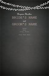 vistaprint wedding programs personalized invitations announcements designs programs