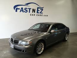 2006 bmw 750li fast n ez car care