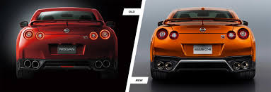 nissan gtr tail lights nissan gt r facelift old vs new compared carwow