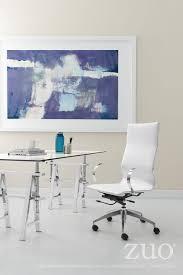 zuo modern glider hi back office chair 100372 modern