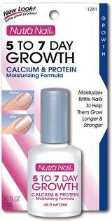 nutra nail calcium formula 5 to 7 day nail growth 0 45 fl oz