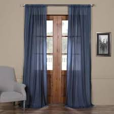 Navy Blue Sheer Curtains Blue Sheer Curtains For Less Overstock