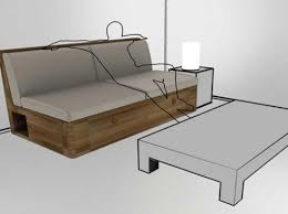 sofa bed with storage box 2 in 1 combination of sofa and storage box freshome com