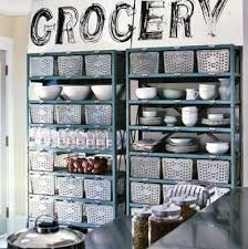 alternative kitchen cabinet ideas kitchen baskets kitchen cabinet alternatives 11 clever ideas