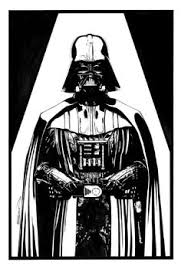 black white coloring pages star wars qui gon google