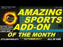 amazing sports addon now better than sportsdevil is all in one