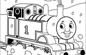 coloring pages thomas train printable coloring pages