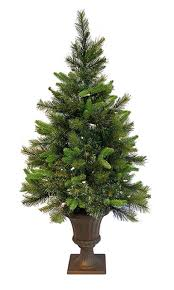 3 5 pre lit battery operated potted tree