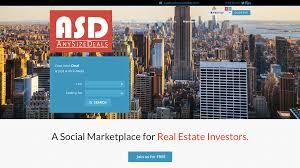anysizedeals a social marketplace for real estate investors