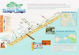 Vegas Monorail Map Virginia Beach Oceanfront Map Virginia Map
