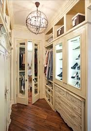 Armoire With Glass Doors Glass Front Armoire Transitional Bedroom Nightingale Design