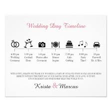 Simple Wedding Program Examples The 25 Best Wedding Timeline Template Ideas On Pinterest