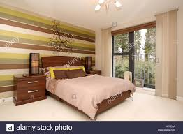 home interior bedroom feature wall room with a view juliet
