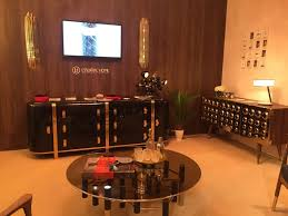 Ideas For Contemporary Credenza Design Furniture Accessories Luxury Room With Black Gold Media Unit And