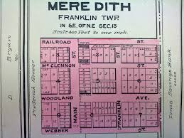 State Of Michigan Plat Maps by Meredith Wonder Of The North Woods Back In 1884 Anyway
