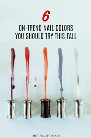 6 must have nail polish shades for fall winter