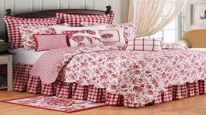 French Toile Bedding Country Bedroom Decorating Ideas French Country Bedding Red And