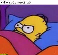 Meme Angry - when you wake up homer simpson angry meme starecat com
