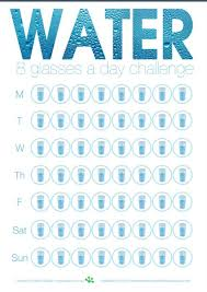 Water Challenge Drink More Water 64 Oz Challenge