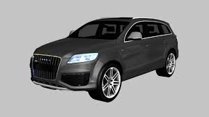audi q7 modified modified audi rs5 gt2 concept 3d cgtrader