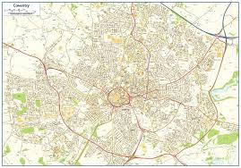 map uk coventry coventry map 16 99 cosmographics ltd