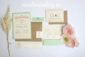 rustic chic wedding invitations k j s intimate cottage wedding creative destiny stationery