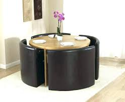 Space Saver Dining Set Table Four Chairs Space Saver Table And Chair Set Black Glass Dining Room Table Set