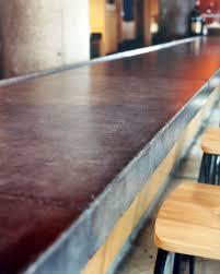 concrete top bar table concrete cafe bar tables and tops austin concrete countertops