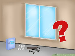 Icicle Lights In Bedroom How To Hang Icicle Lights 9 Steps With Pictures Wikihow
