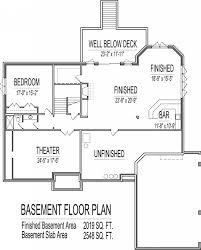 100 garage basement floor plans home designs enchanting