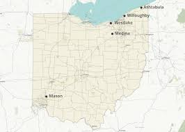 Logan Ohio Map by Who Has The Cheapest Homeowners Insurance Quotes In Ohio