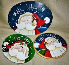 459 best painted santa ornaments images on santa