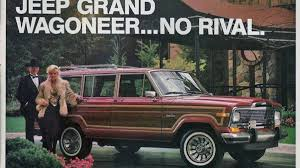 jeep family stickers report says new jeep grand wagoneer cancelled jeep says not so fast