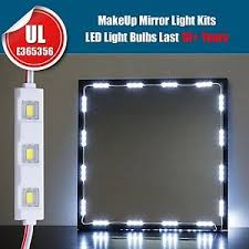 Makeup Vanity Light 10ft Led White Dressing Mirror Lighted Cosmetic Makeup Vanity