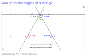 Measures Of Interior Angles Writing Geometric Relationships Texas Gateway