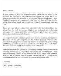 sample letters of recommendation for teacher 12 documents in