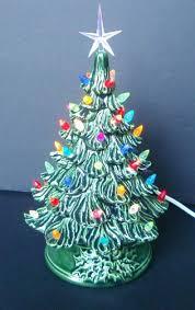 ceramic light up christmas tree tabletop ceramic christmas tree amodiosflowershop