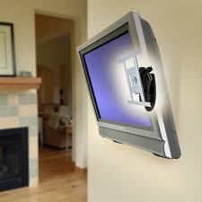 mounting a tv on the wall ergotron 45 269 lx hd wall mount monitor pivot