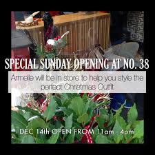 sunday opening at no 38 giftideas christmas designer