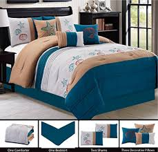 Starfish Comforter Set Pinch Bedding Sets