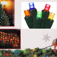 4 u0027 x 6 u0027 multi color twinkling led net style tree trunk wrap