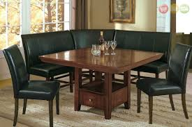 Dining Room Sets With Bench Seating Dining Room Corner Bench