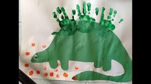 dinosaur crafts for kids youtube