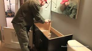 Bathroom Vanity Installation How To Install A Vanity Countertop
