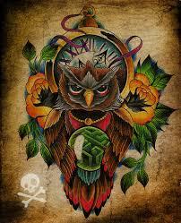 commission owl tattoo by willemxsm on deviantart