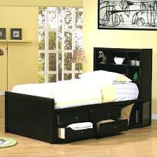 Bookcase Headboard King Single Bed Bookcase Headboard Hercegnovi2021 Me