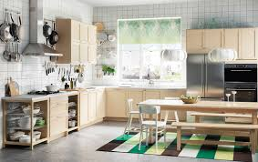 Images About Kitchen On Pinterest L Shaped Designs Shape And Green A Kitchen With Birch Drawers Doors And A Large Kitchen Table With