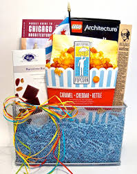 chicago gift baskets delightful chicago themed gift baskets for baby showers newborns