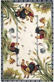 Rooster Runner Rug Rooster Kitchen Area Rugs Roosters Area Rug 2 6 X8 Kitchen Rug