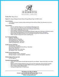 awesome banquet server resume 4 server duties for resume resume